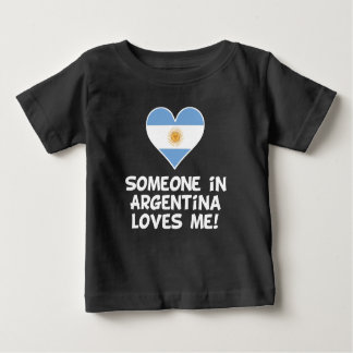 Someone In Argentina Loves Me Baby T-Shirt