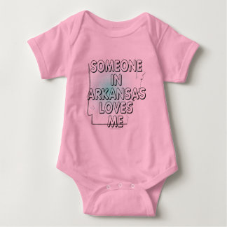 Someone in Arkansas loves me Baby Bodysuit
