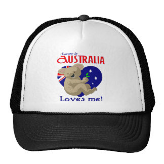 Someone in Australia Loves Me  Koala Hat