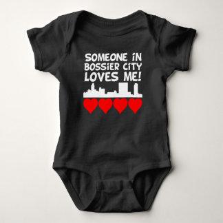 Someone In Bossier City Louisiana Loves Me Baby Bodysuit