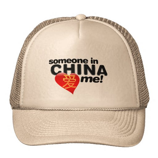Someone in China loves me! Mesh Hats