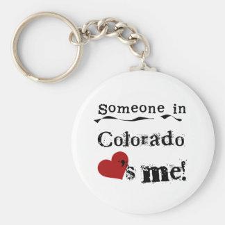Someone In Colorado Loves Me Key Ring