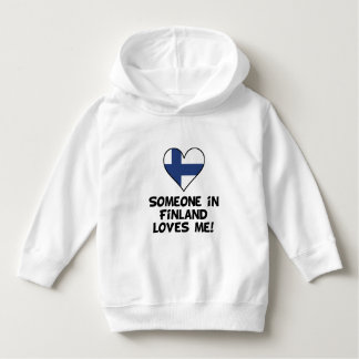 Someone In Finland Loves Me Hoodie