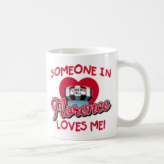 Someone in Florence Loves Me Mug