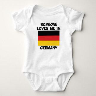 Someone In Germany Loves Me Baby Bodysuit