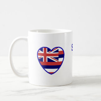 Someone In Hawaii Loves Me Basic White Mug