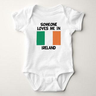 Someone In Ireland Loves Me Baby Bodysuit