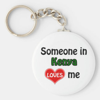 Someone in Kenya Loves me Key Ring