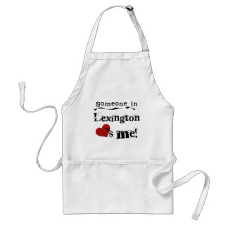 Someone in Lexington Aprons