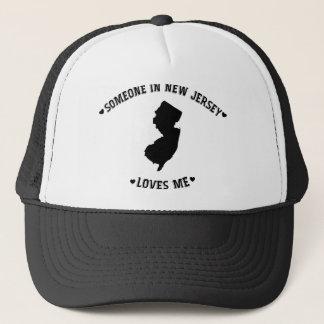 Someone in New Jersey Loves Me Trucker Hat