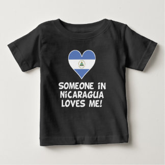 Someone In Nicaragua Loves Me Baby T-Shirt