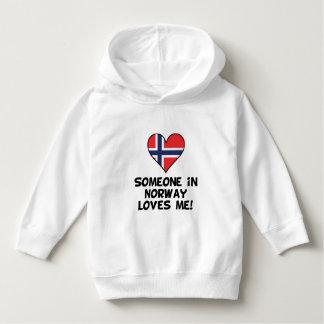 Someone In Norway Loves Me Hoodie