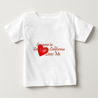 Someone in San Diego Loves Me Baby T-Shirt