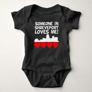 Someone In Shreveport Louisiana Loves Me Baby Bodysuit
