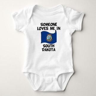 Someone In South Dakota Loves Me Baby Bodysuit