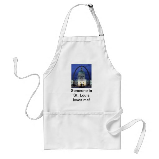 Someone In St. Louis Loves Me Apron