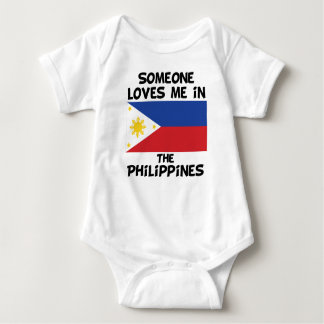 Someone In the Philippines Loves Me Baby Bodysuit
