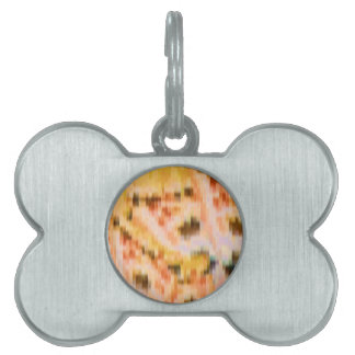 Someone left the cake out in the rain pet ID tag