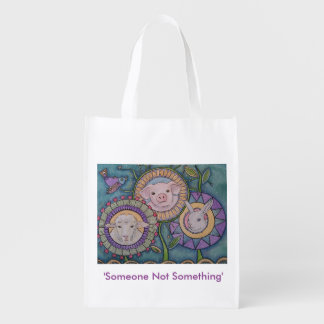 'Someone Not Something' reusable bag