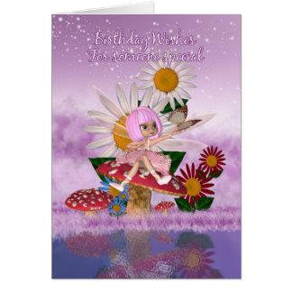 Someone Special Birthday Card With Sugar Plum Fair