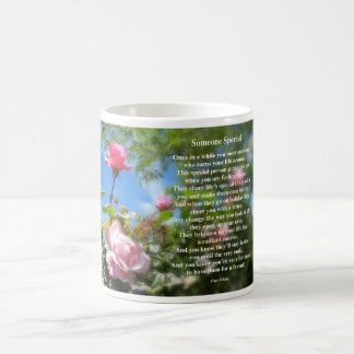 Someone Special Friendship Poem Coffee Mug