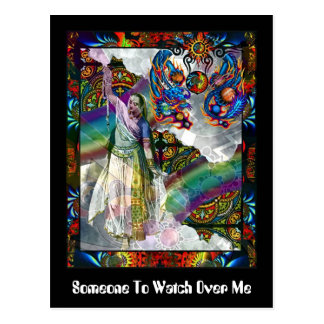 Someone To Watch Over Me Postcard