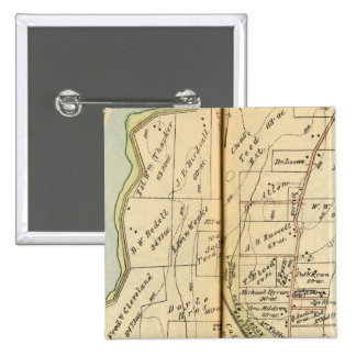 Somers, New York 15 Cm Square Badge