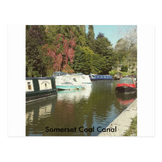 Somerset Coal Canal Postcard