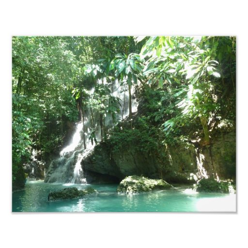 Somerset Falls Jamaica Photo Print