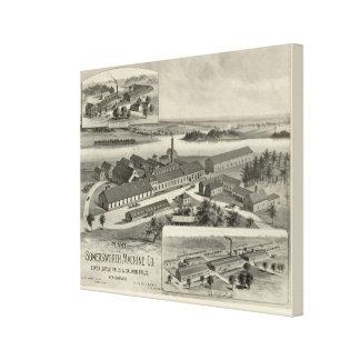 Somersworth Machine Co Canvas Prints