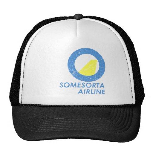 Somesorta Airline Trucker Hat