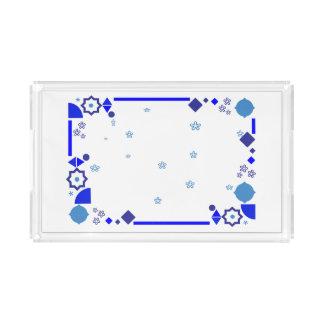 Something Blue Acrylic Tray