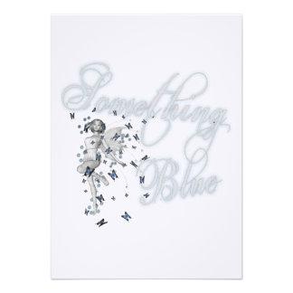 Something Blue Butterfly Fairy - Original Custom Invites