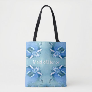 Something Blue Classy Bridesmaid Tote