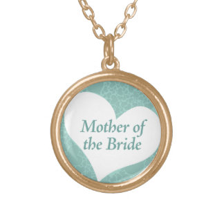 Something Blue Mom of Bride Necklace
