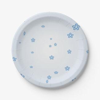 Something Blue Paper Plates