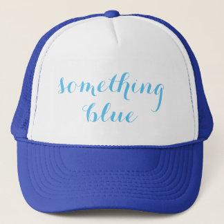 Something Blue Wedding Trucker Hat