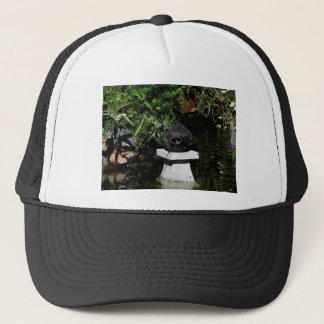 Something Fishy in the Garden Trucker Hat