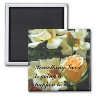 Something Good_Magnet_by Elenne Boothe Square Magnet