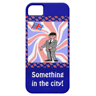 Something in the city iPhone 5 case