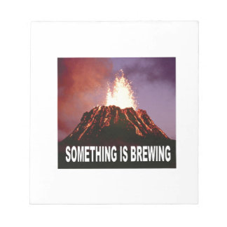 Something is brewing notepad
