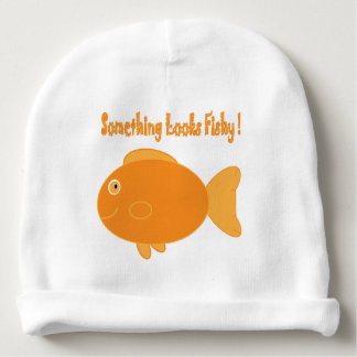 Something Looks Fishy! Baby Beanie
