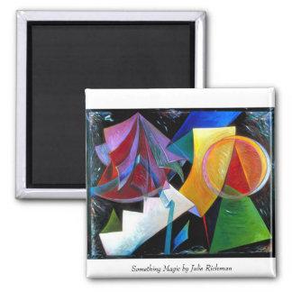 Something Magic, Something Magic by Julie Richman Square Magnet