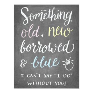 Something Old | Bridesmaid Card