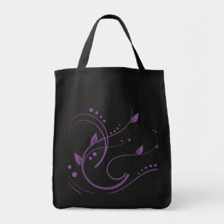 Something Purple  Collection Grocery Tote Bag
