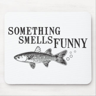 Something smell funnu mouse pad