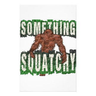 Something Squatchy Stationery