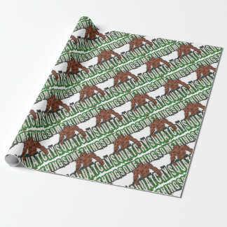 Something Squatchy Wrapping Paper