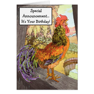 Something to Crow About! Card