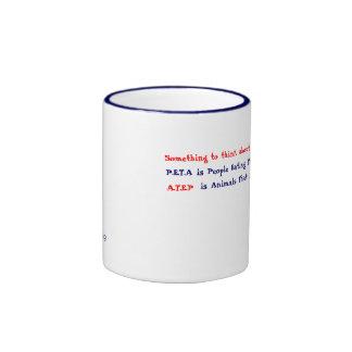 Something to think about ringer mug